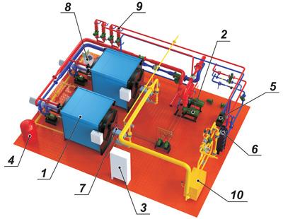 Модульная котельная МКВ